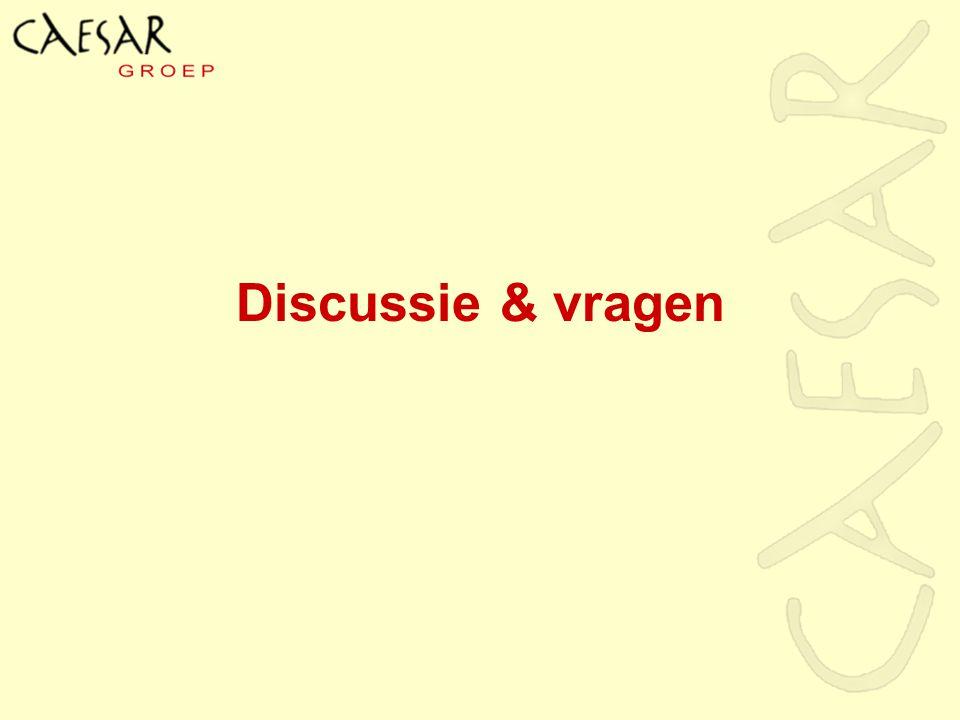Discussie & vragen Vraag: Vond u de sessie wardevol