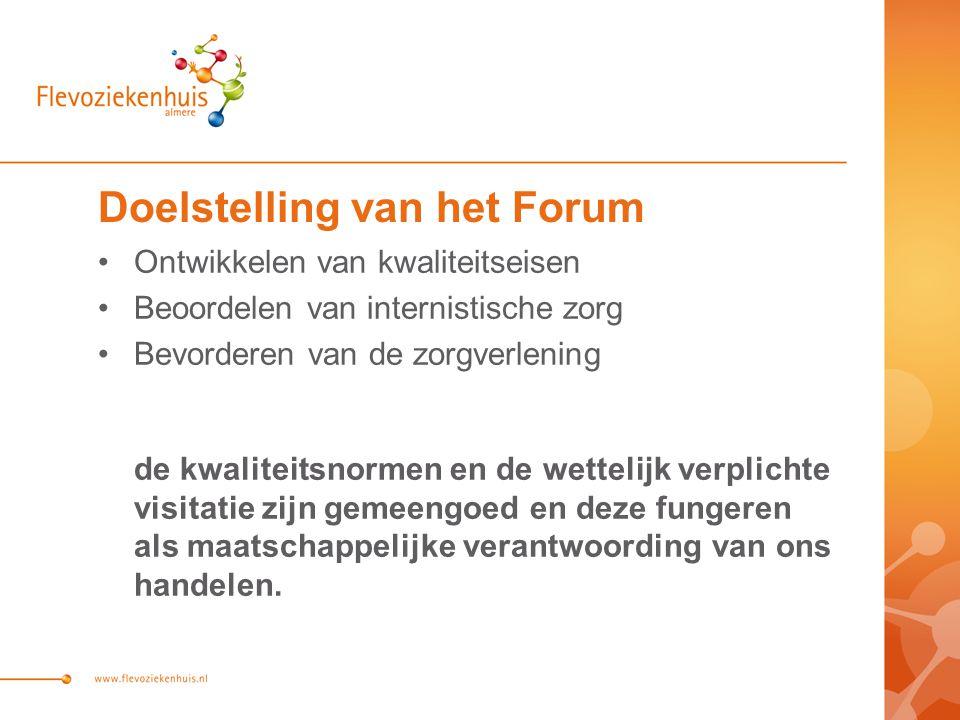 Doelstelling van het Forum