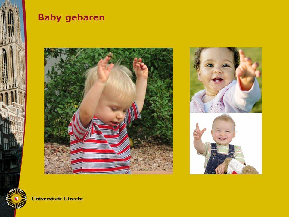 Baby gebaren