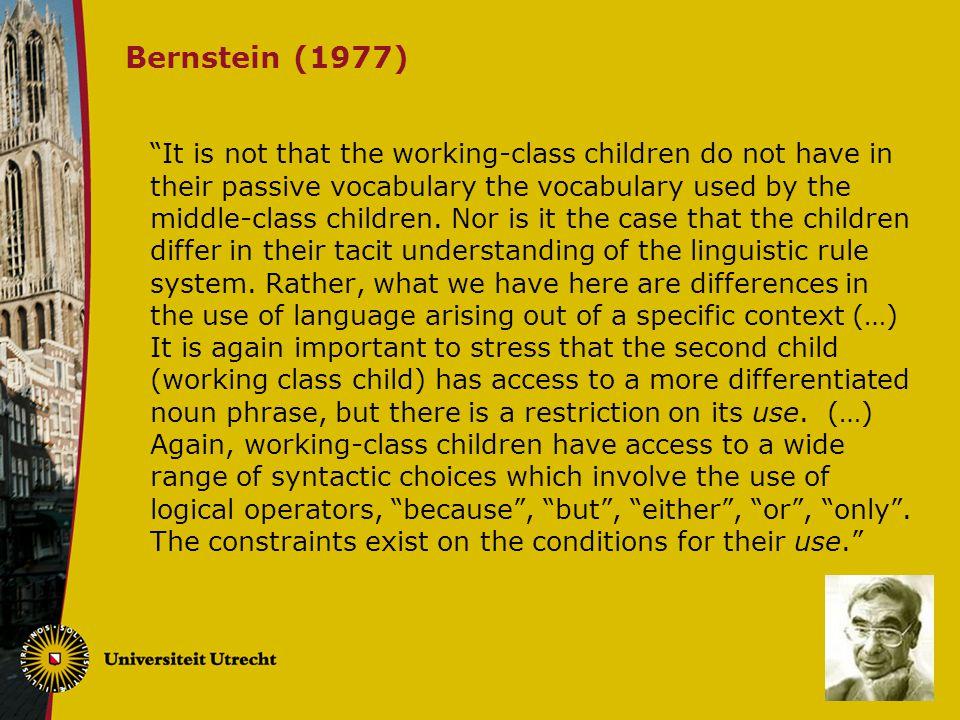 Bernstein (1977)
