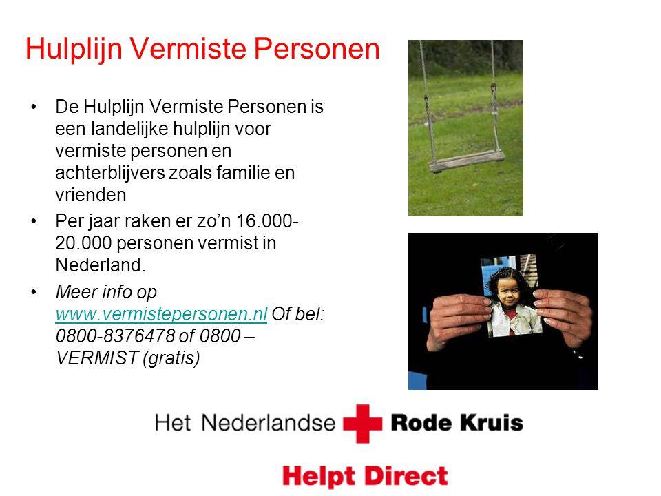 Hulplijn Vermiste Personen
