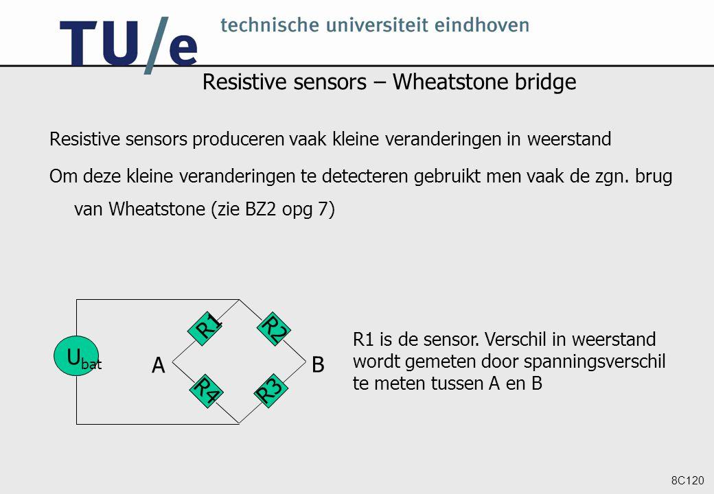 Resistive sensors – Wheatstone bridge
