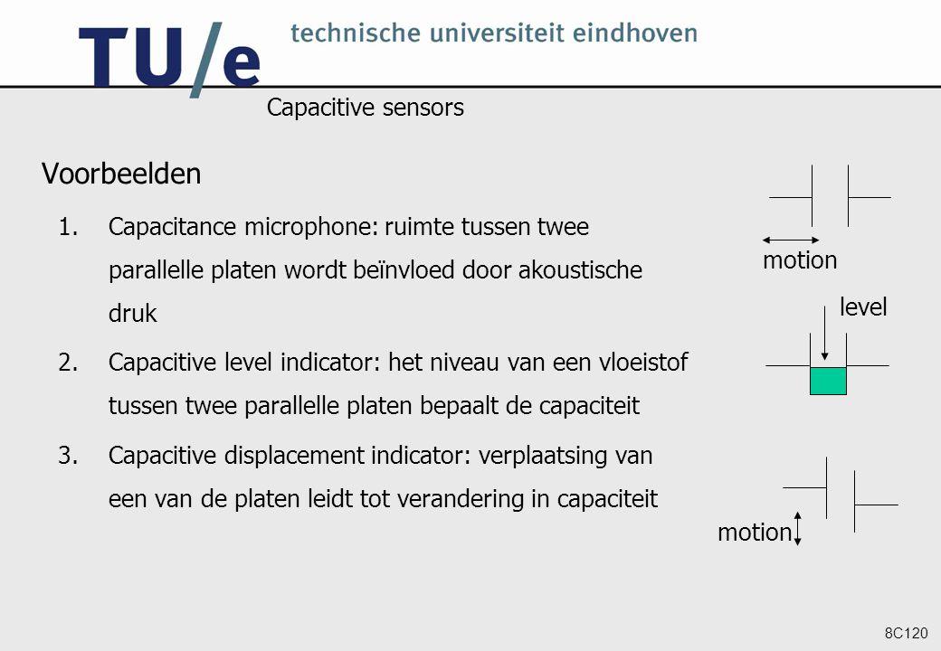 Voorbeelden Capacitive sensors