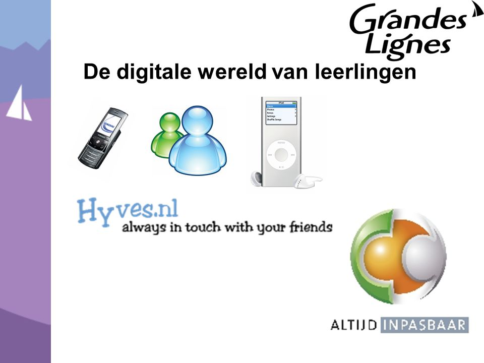De digitale wereld van leerlingen