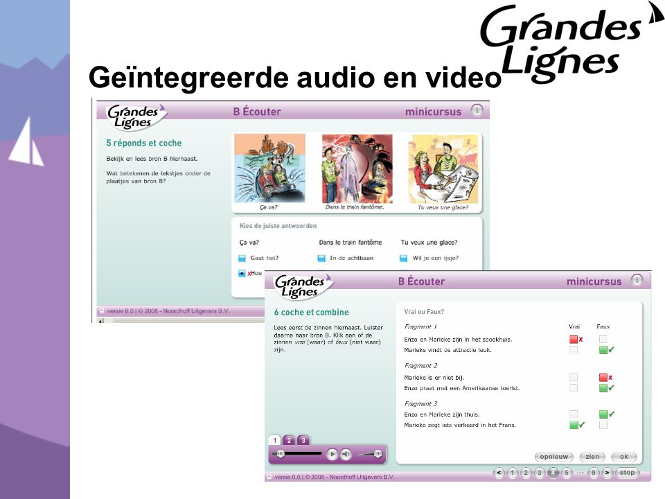 Geïntegreerde audio en video
