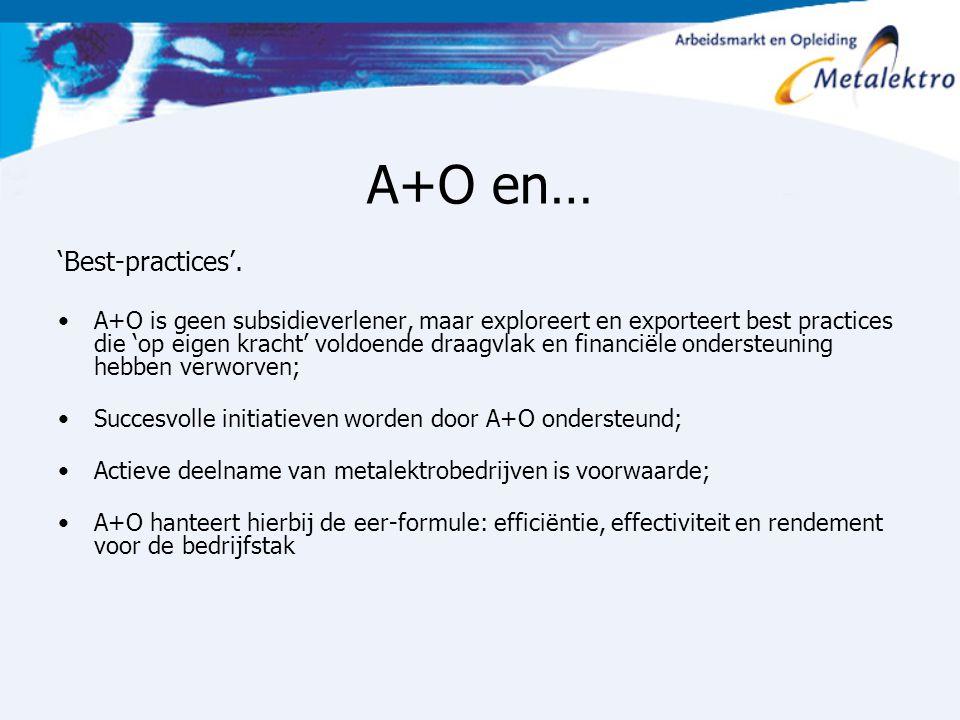 A+O en… 'Best-practices'.