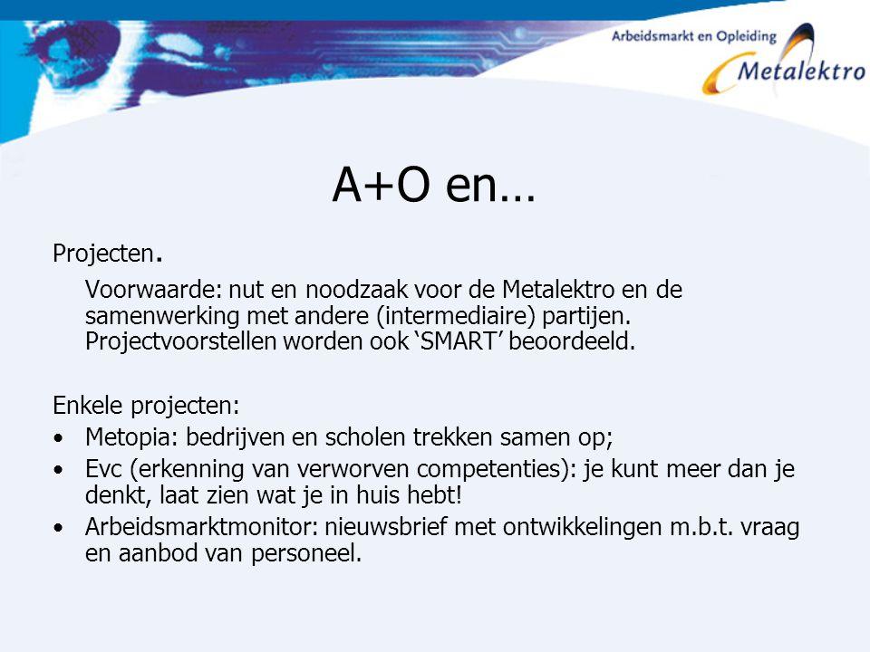 A+O en… Projecten.