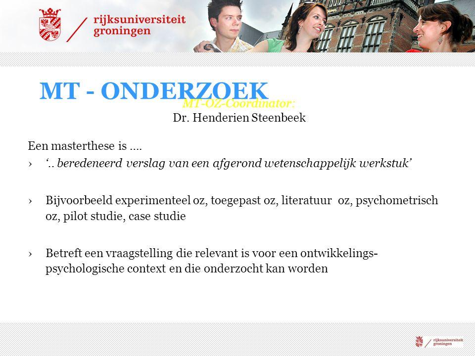 Dr. Henderien Steenbeek