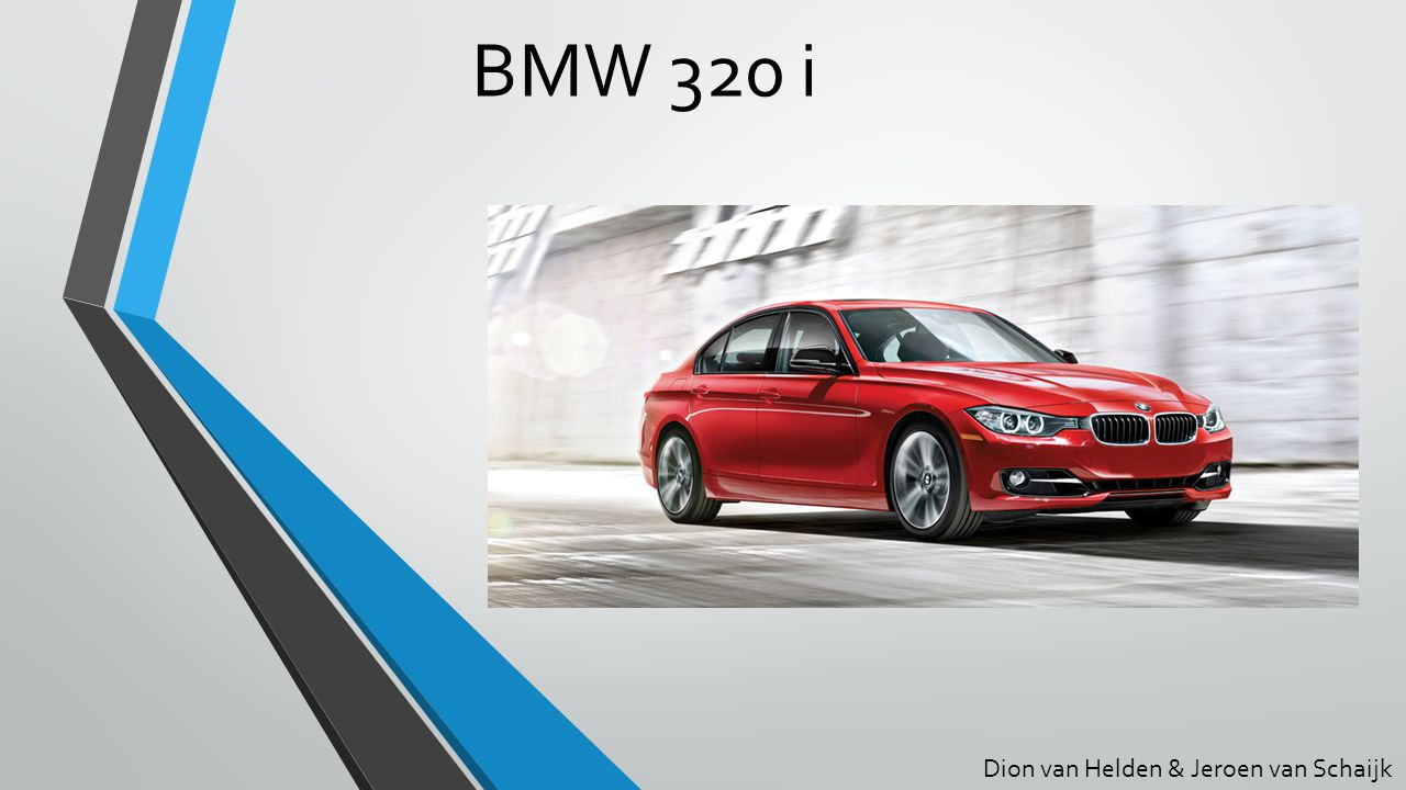 BMW 320 i Dion van Helden & Jeroen van Schaijk