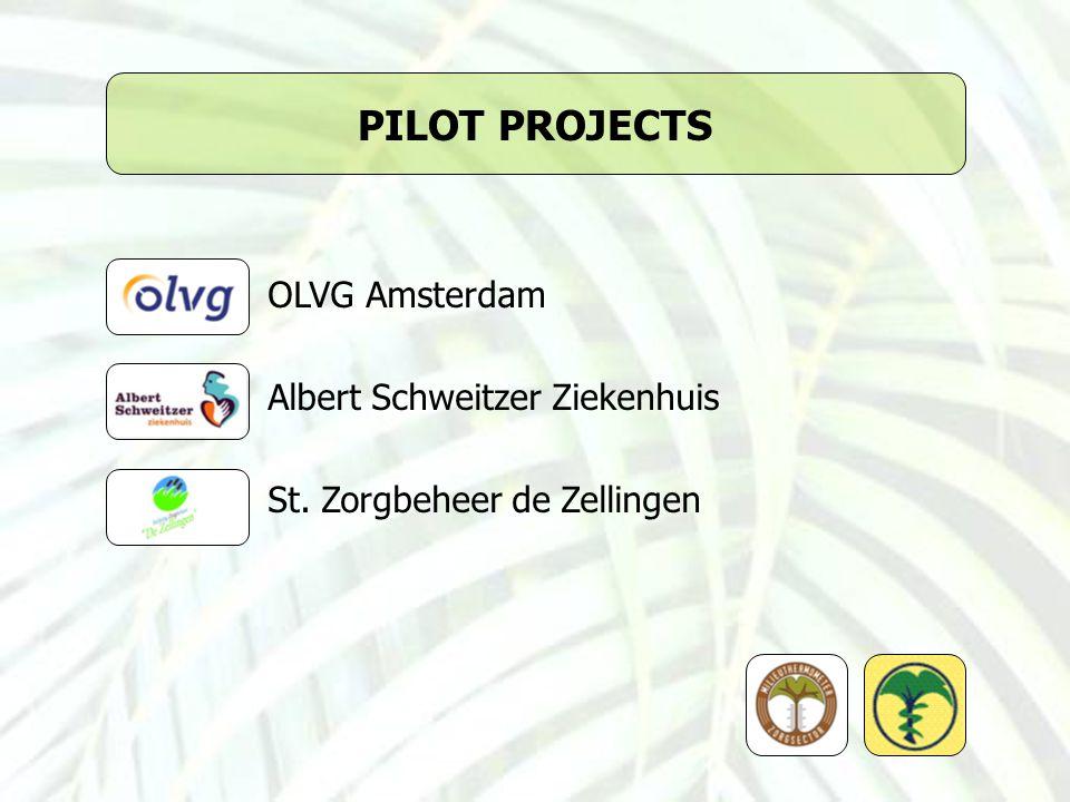 PILOT PROJECTS OLVG Amsterdam Albert Schweitzer Ziekenhuis