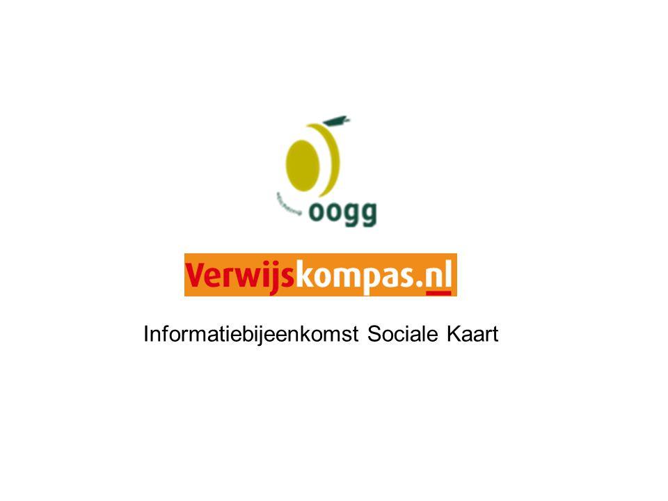 Informatiebijeenkomst Sociale Kaart