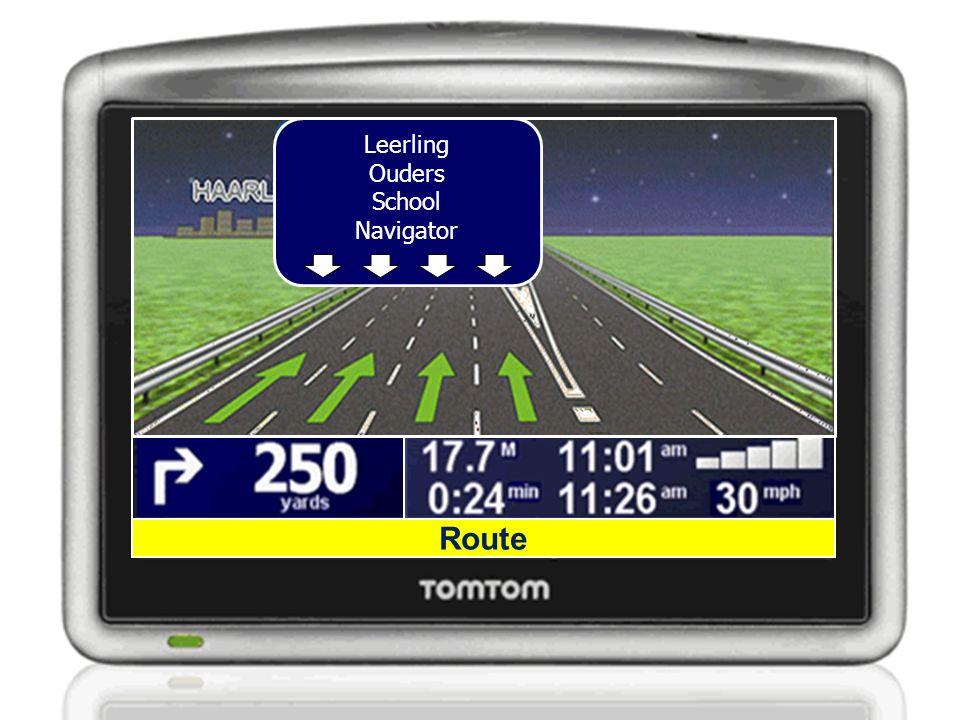 Leerling Ouders School Navigator Route