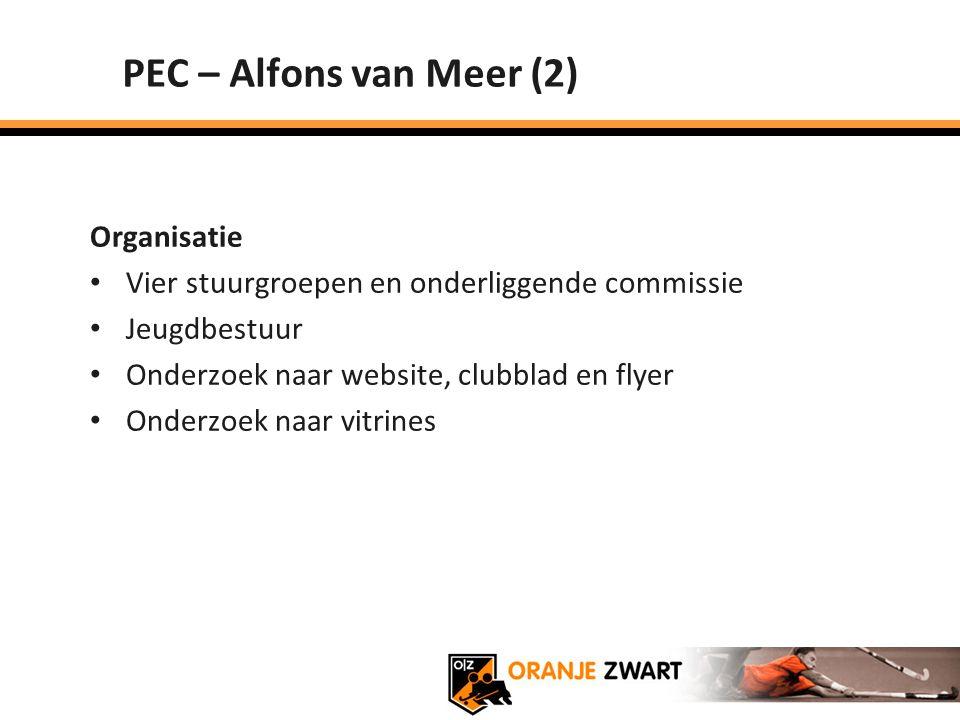 PEC – Alfons van Meer (2) Organisatie