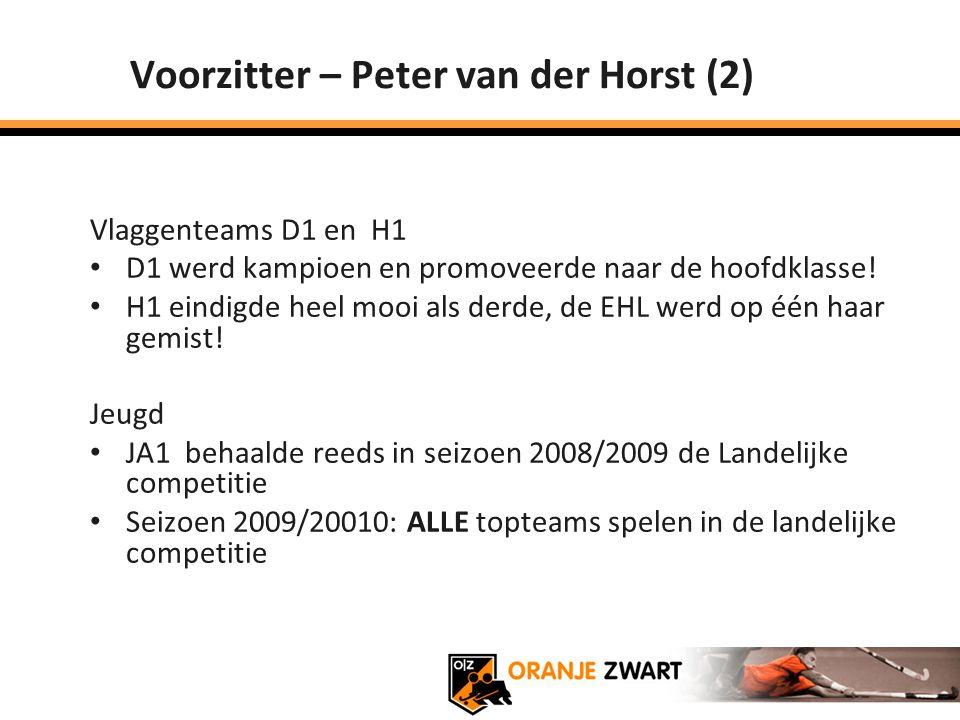 Voorzitter – Peter van der Horst (2)