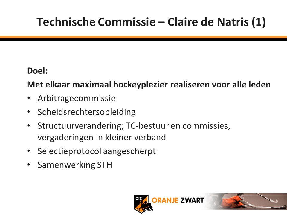 Technische Commissie – Claire de Natris (1)