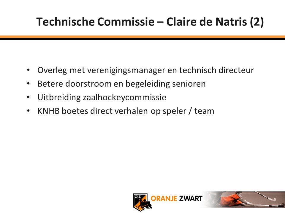 Technische Commissie – Claire de Natris (2)