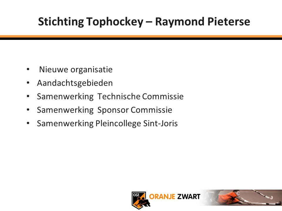 Stichting Tophockey – Raymond Pieterse