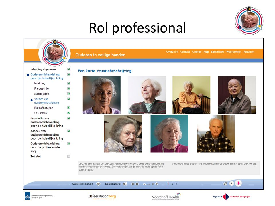 Rol professional www.oivh.nl