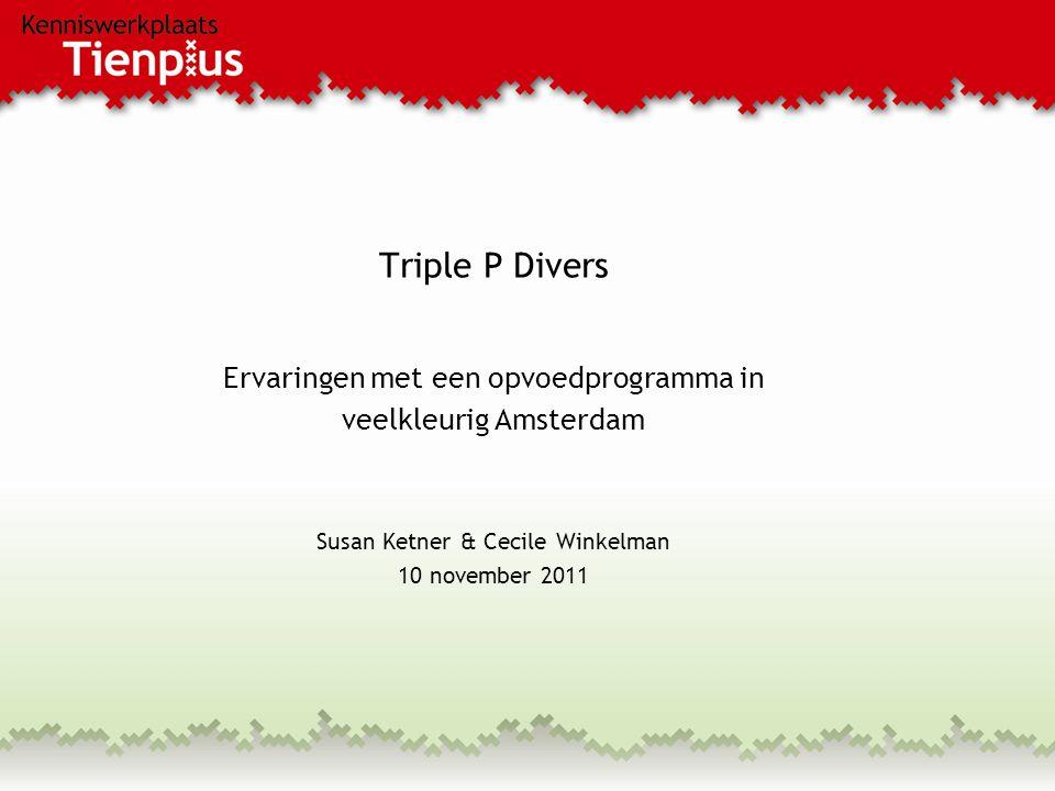 Triple P Divers Ervaringen met een opvoedprogramma in