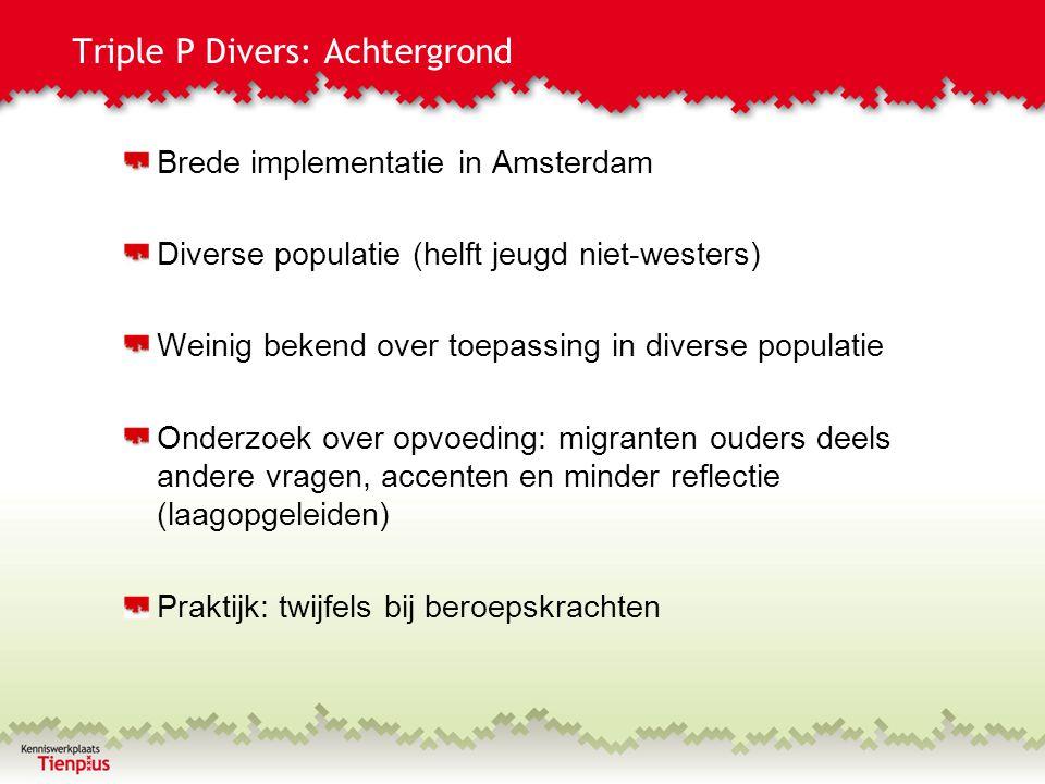 Triple P Divers: Achtergrond