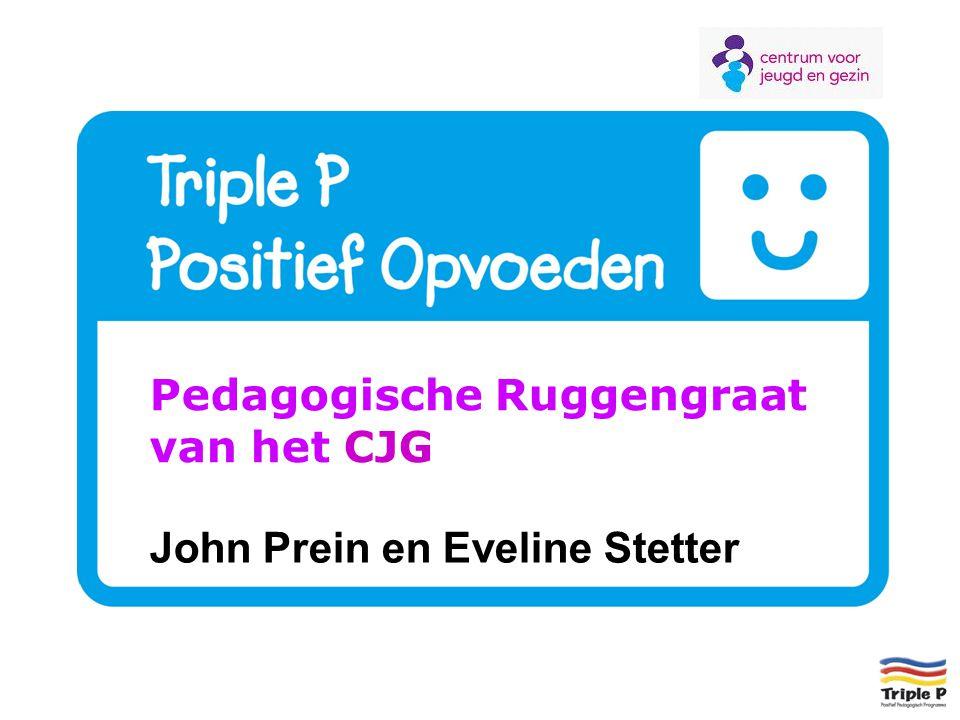 Pedagogische Ruggengraat van het CJG