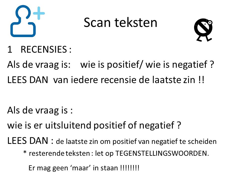 Scan teksten RECENSIES :
