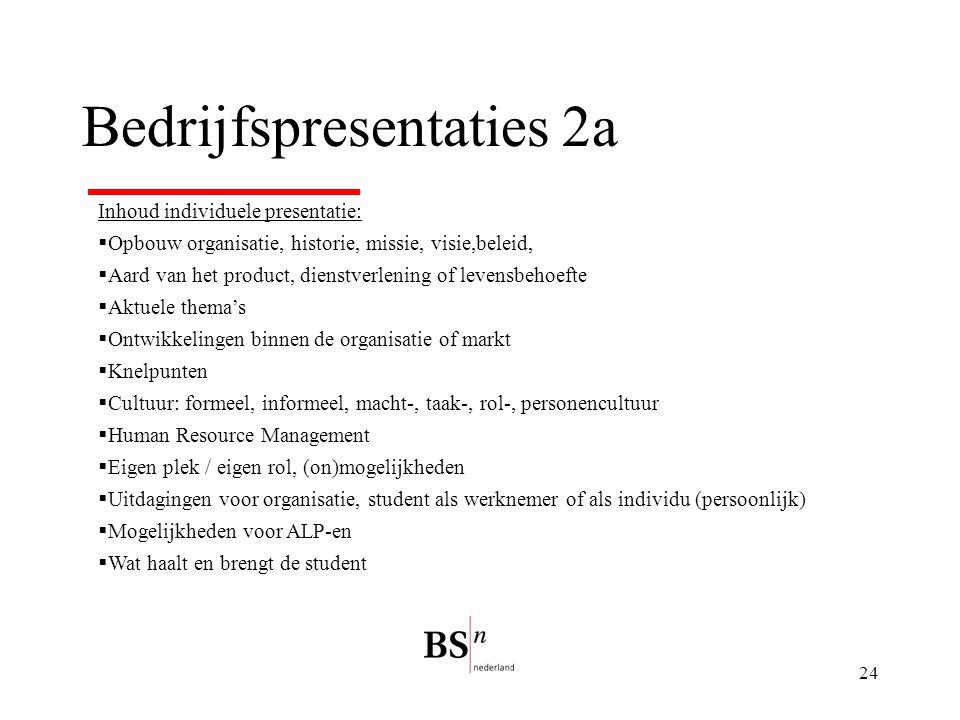 Bedrijfspresentaties 2a