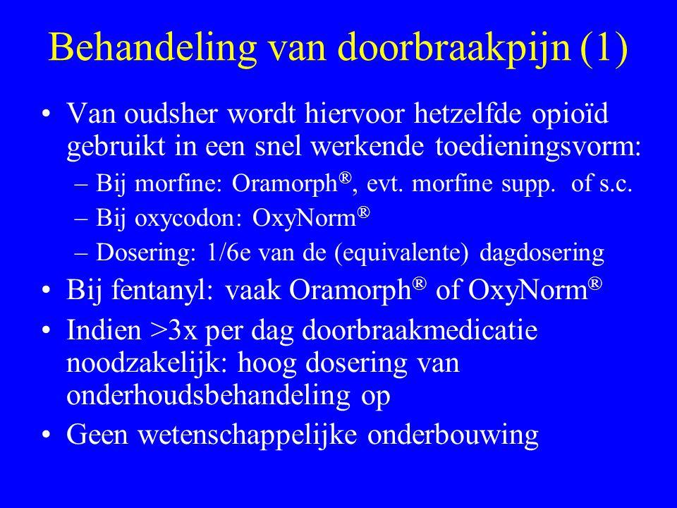 Behandeling van doorbraakpijn (1)