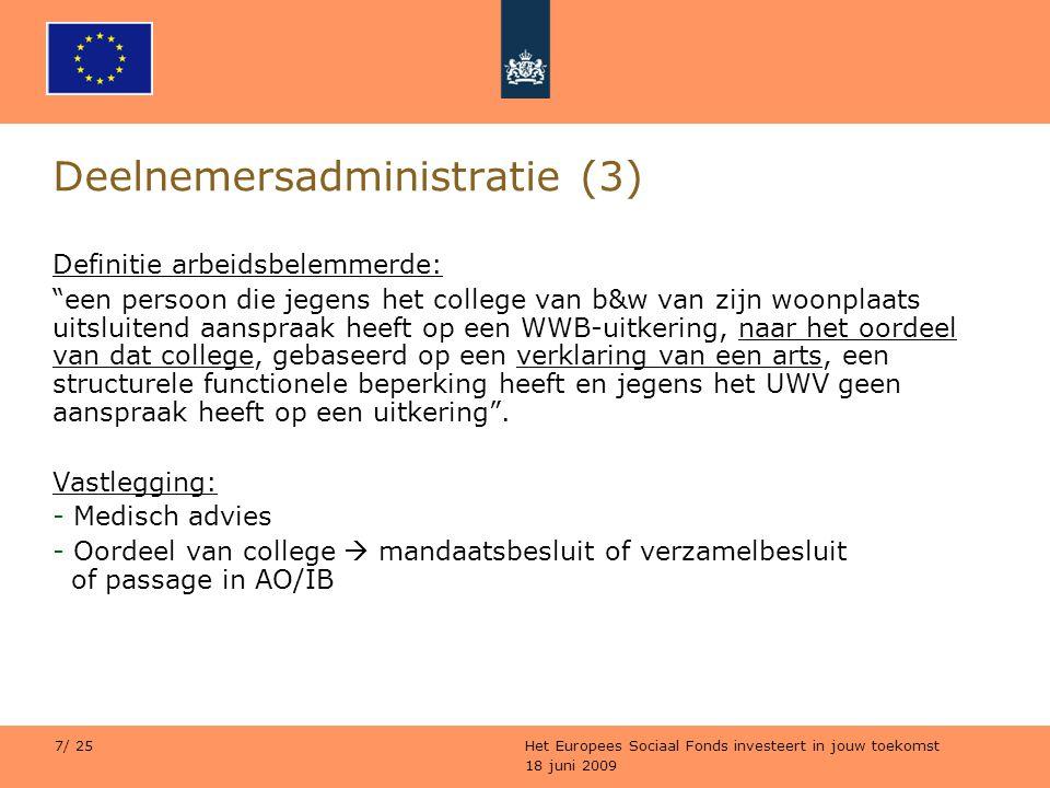 Deelnemersadministratie (3)