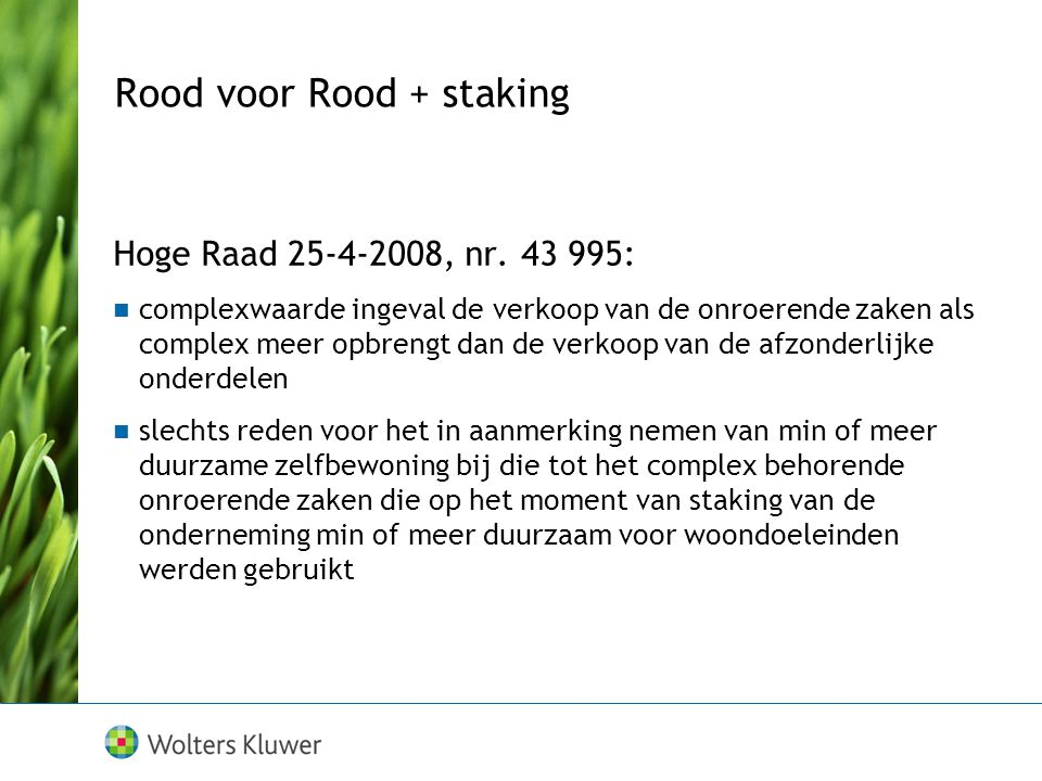 Rood voor Rood + staking
