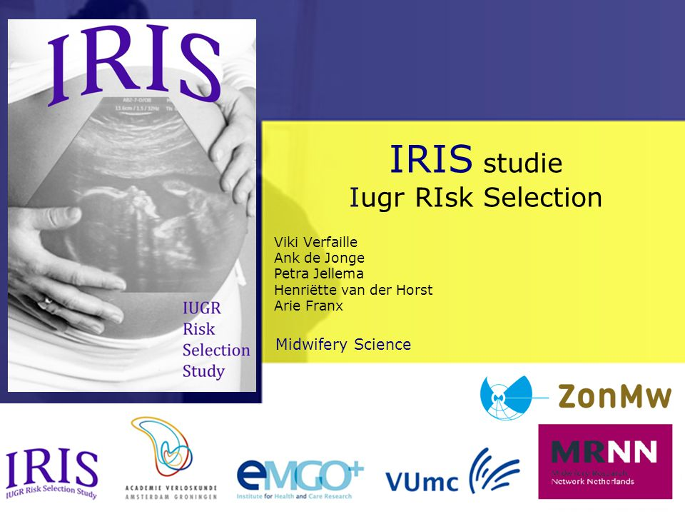 IRIS studie Iugr RIsk Selection