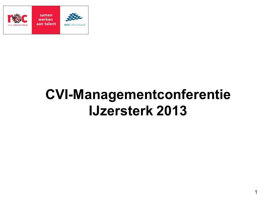 CVI-Managementconferentie IJzersterk 2013