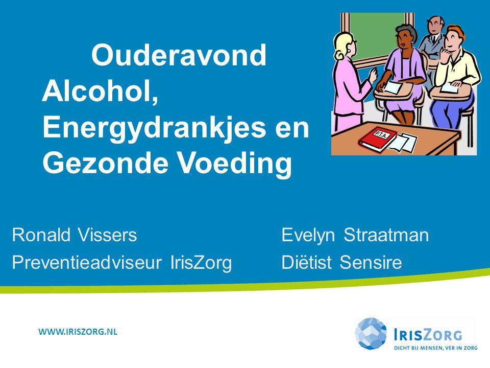 Ouderavond Alcohol, Energydrankjes en Gezonde Voeding