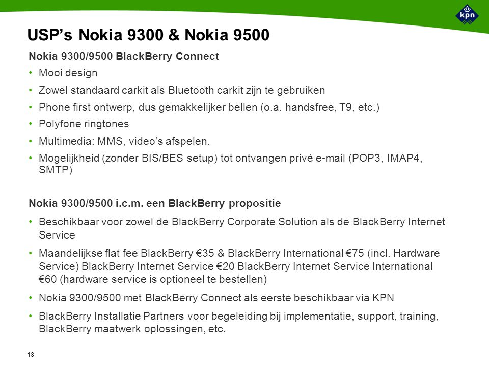 BlackBerry BlackBerry Built-In™ & Connect