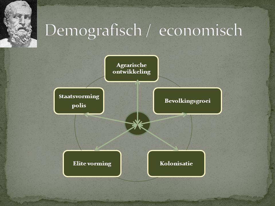 Demografisch / economisch
