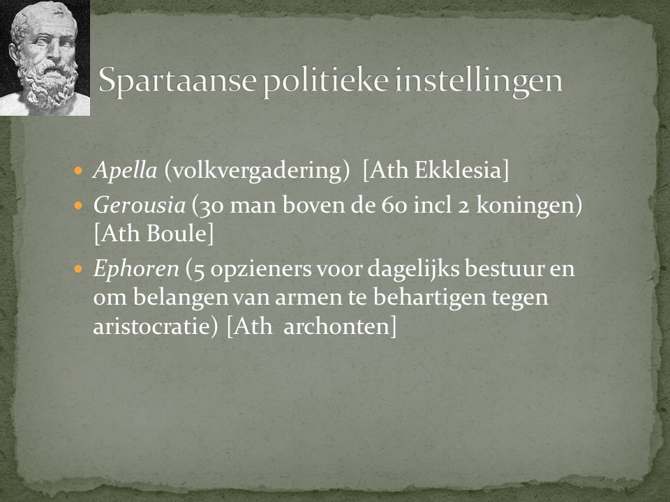 Spartaanse politieke instellingen