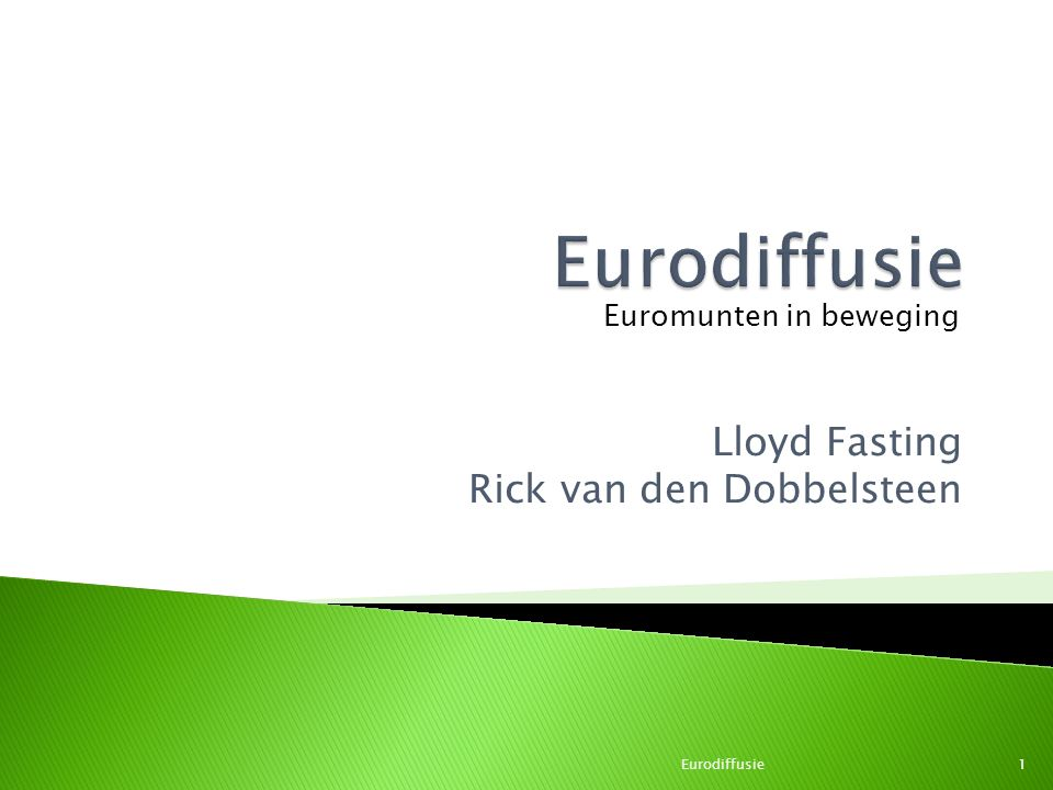 Lloyd Fasting Rick van den Dobbelsteen