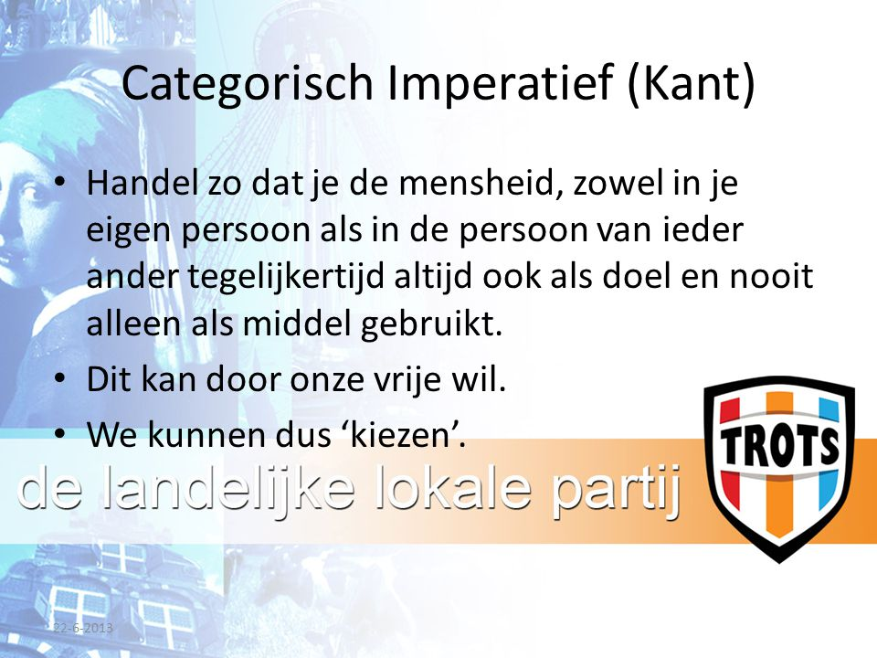 Categorisch Imperatief (Kant)