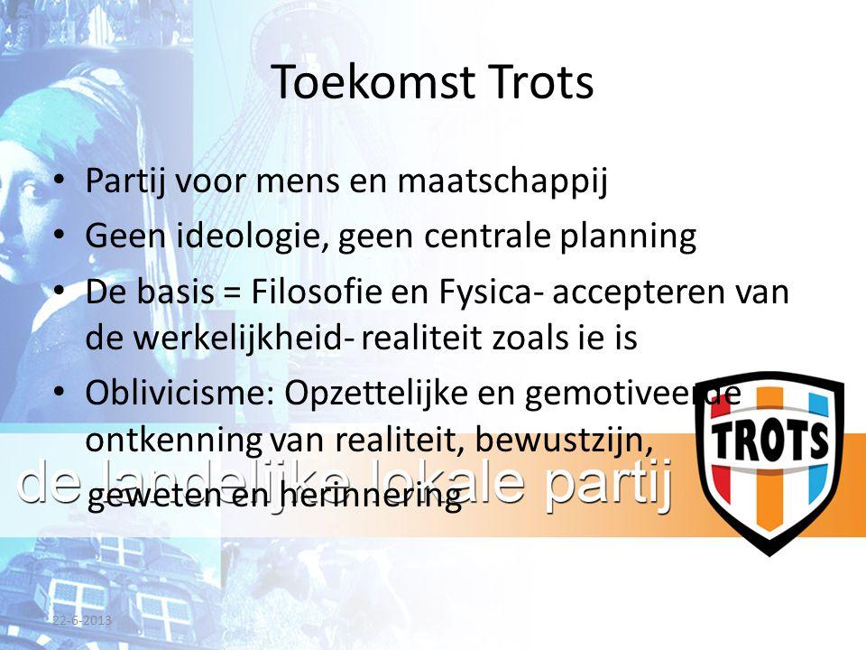Toekomst Trots Partij voor mens en maatschappij