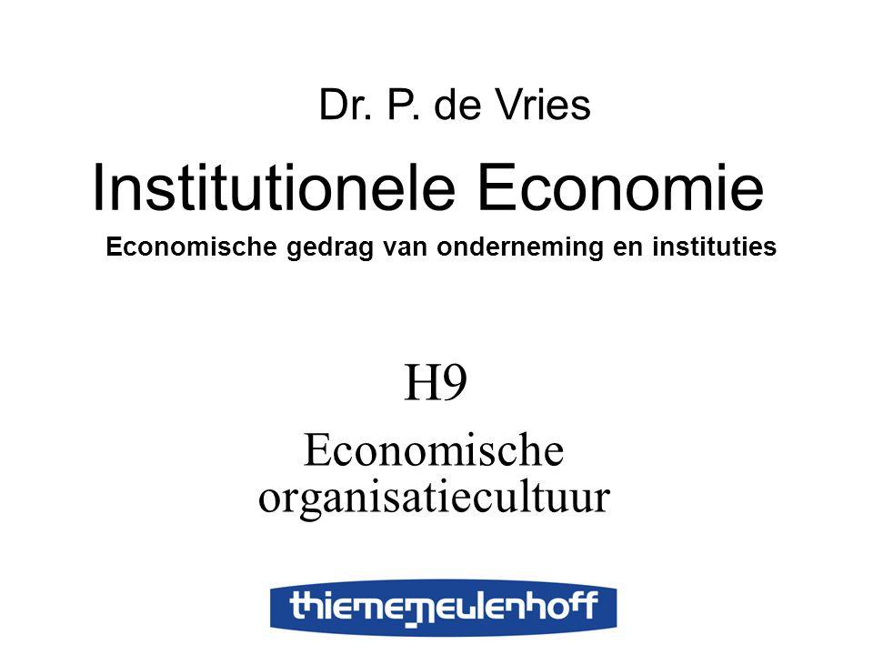 Economische organisatiecultuur