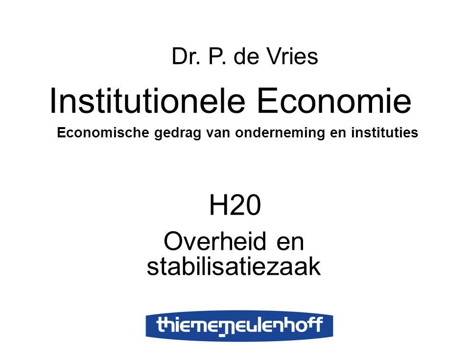 Overheid en stabilisatiezaak