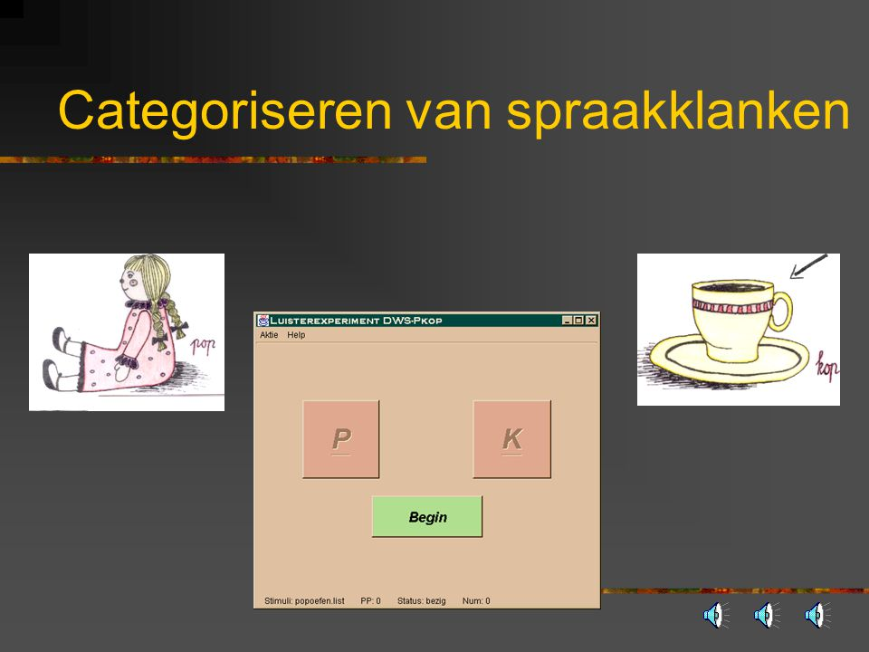 Categoriseren van spraakklanken