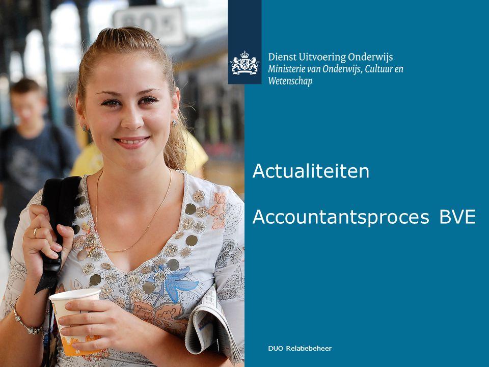 Actualiteiten Accountantsproces BVE