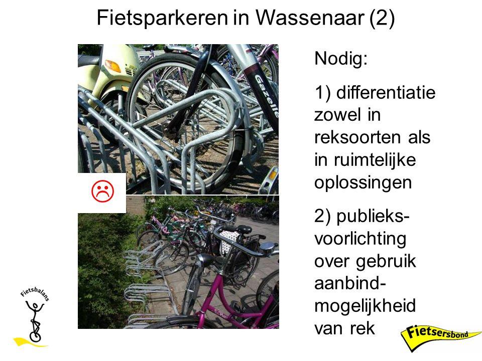 Fietsparkeren in Wassenaar (2)