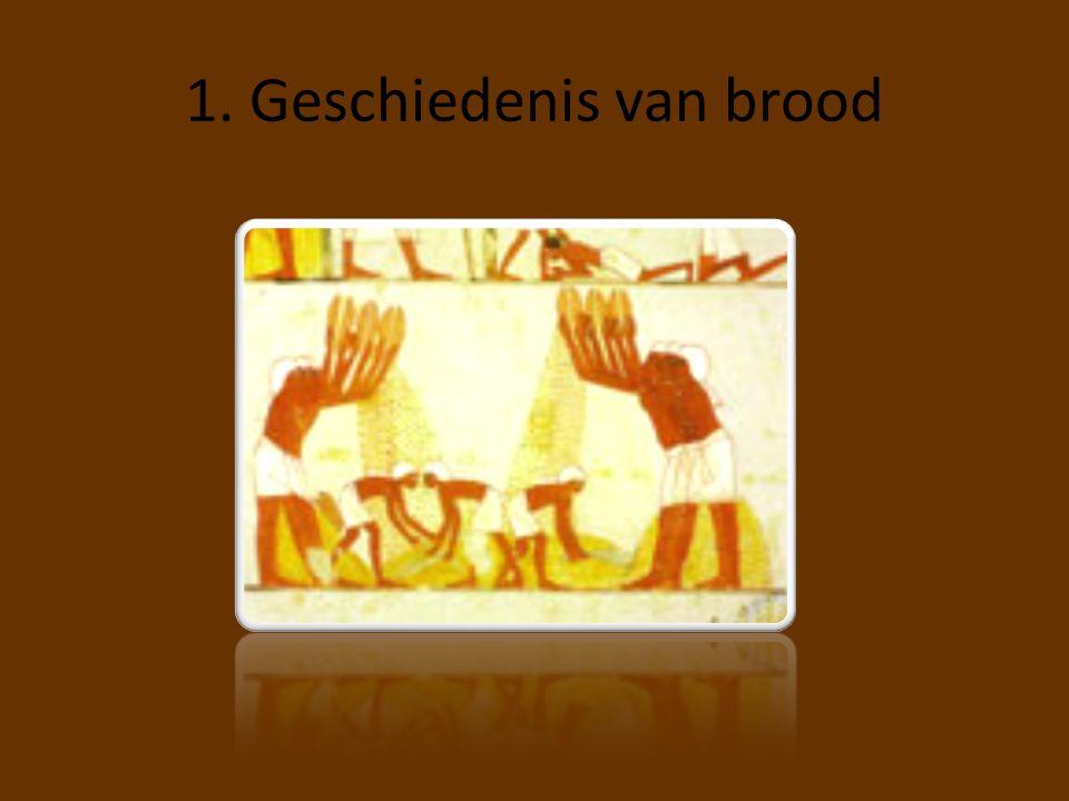 1. Geschiedenis van brood