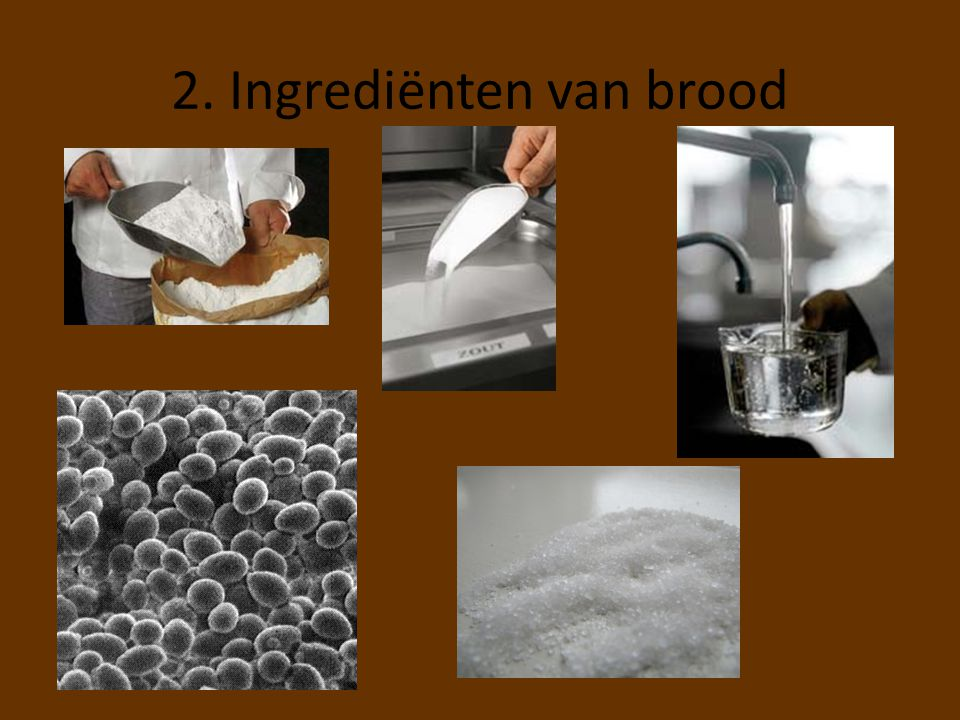 2. Ingrediënten van brood