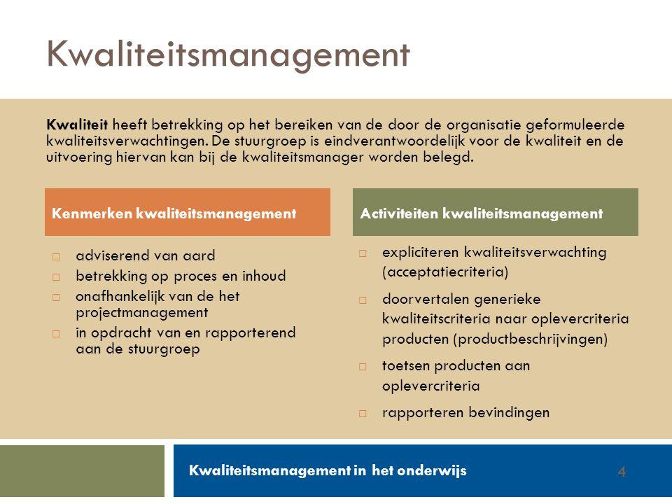 Kwaliteitsmanagement