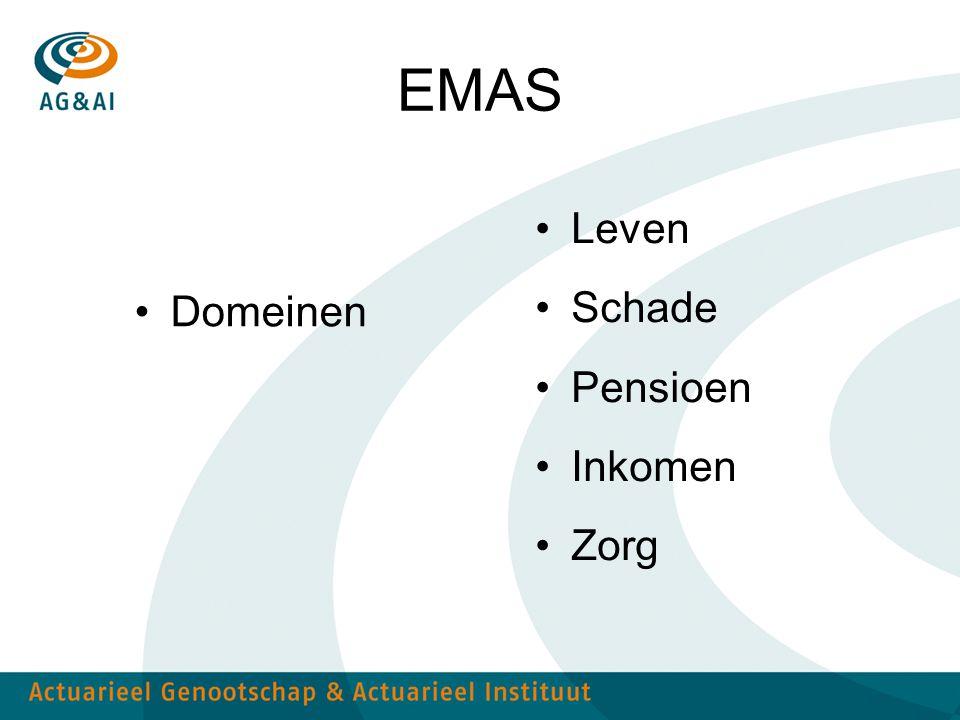 EMAS Leven Schade Pensioen Domeinen Inkomen Zorg