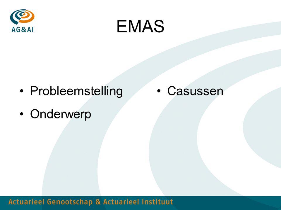 EMAS Probleemstelling Onderwerp Casussen