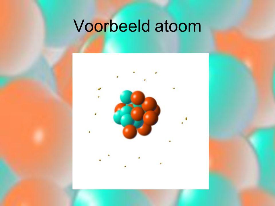 Voorbeeld atoom